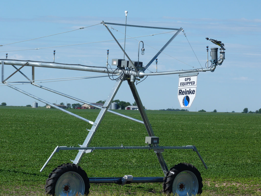 Navigator GPS provide accurate guidance for center pivot end towers